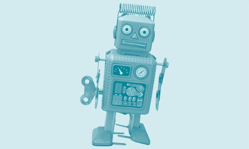 Robot image for Quietroom website