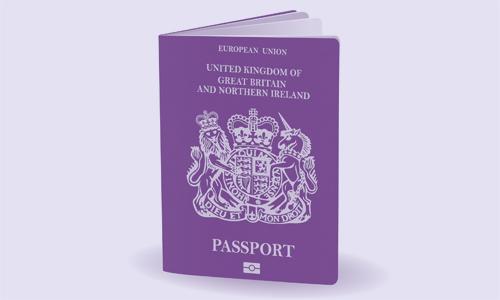 United Kingdom of Great Britain and Northern Ireland passport