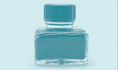 ink bottle blog image - green