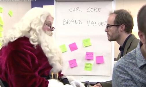 Watch the *Santa* Brand workshop